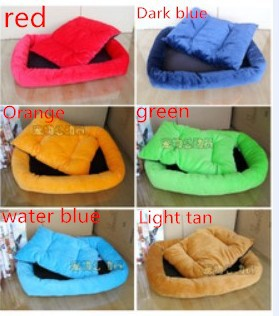 Dog Bed Dog House Pet Bed Cat Bed New 2014 Pet Nest Kennel Cat Litter Pet Pad Multicolor Soft Pet Products1pcs/lot(China (Mainland))