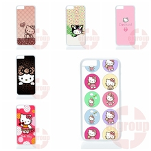 Accessories Hard Skin cute cartoon hello kitty Lenovo A6000 A7000 A708T Oppo Fine 7 R7 R9 plus Nokia 550 - My-Div-Phone-Cases 2016 store