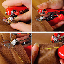 Useful Portable Cordless Mini Hand-Held Clothes Sewing Machine Hot Selling(China (Mainland))