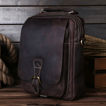 5066,Guaranteed genuine leather Men's Briefcase men messenger bags Business travel bag man leather vintage men shoulder bag
