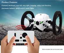 New SJ80 Jumping Sumo RC Car Bounce Car Robot Toys 4CH 2.4GHz with Flexible Wheels Remote Control Robot Car(China (Mainland))