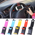 Phone Holder Mount Clip Buckle Socket Hands Free on Car Steering Wheel for iPhone 5 5G