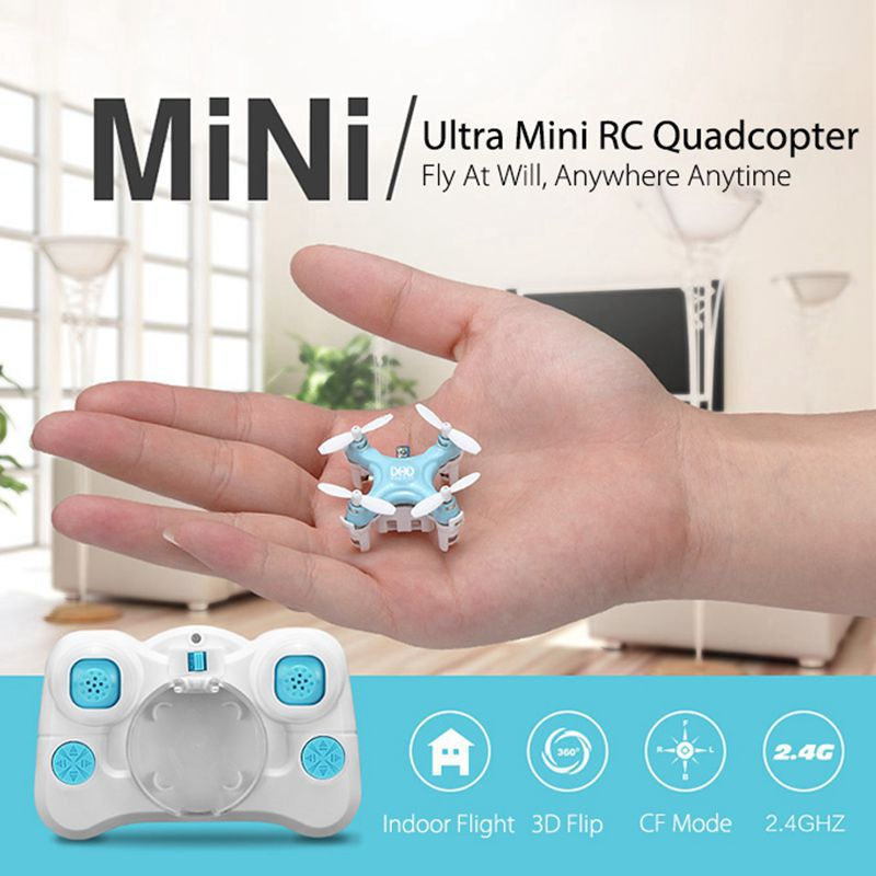 Гаджет  JJRC DHD D1 Drone Smallest Headless Mode 2.4G 4CH 6Axis RC Quadcopter RTF Pocket Drone Mini RC Quadcopter (Mode 2)  None Игрушки и Хобби