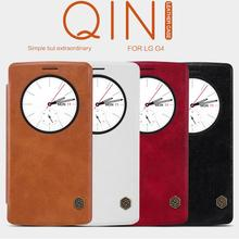 Buy Original Nillkin LG G4 Quick Circle Case LG G4 H810 H815 VS999 F500 H818 LS991 Flip Leather Cover Sleep Wake Phone Shell for $8.79 in AliExpress store