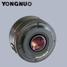 Yongnuo YN50mm F/1.8 Standard Prime Lens for Canon EOS Rebel Camera ,AF/MF(China (Mainland))