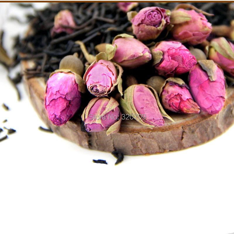 100g Premium Rose Bud King Grade Pu-erh Tea Rose Puer Tea T219<br><br>Aliexpress