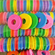 60PCS/Circular winding plate foam main spool thread foam coil Small fishing rod fishing gear accessories wholesale