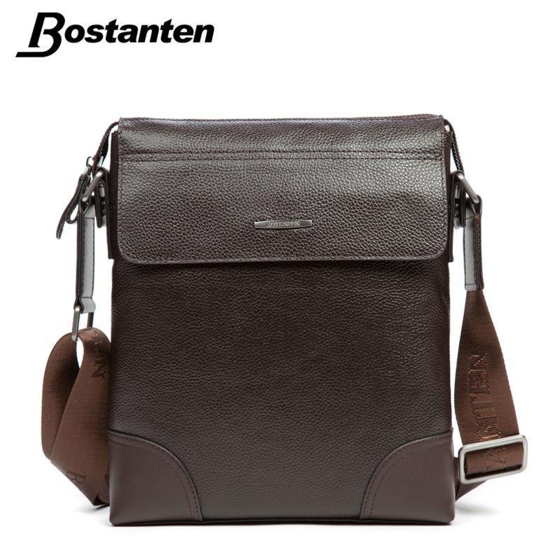 Bostanten Fashion Men Messenger Bag Brand Genuine Leather Vintage Male Shoulder Bag Crossbody Bags Men's Travel Bags Handbag(China (Mainland))