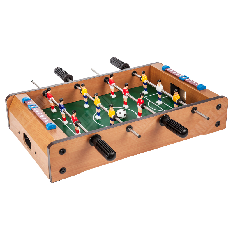 Classic Wooden Table Soccer Set - 51*31*10cm Kids&Parents Interaction Toy Games - Mini Table Football - Table Foosball Kit - 3kg(China (Mainland))