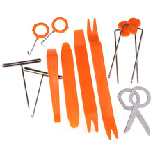 Buy 12 Pcs/Set Plastic Car Radio Door Clip Panel Trim Dash Audio Removal Pry Tool Repairing Set car clip panel dash for $3.76 in AliExpress store