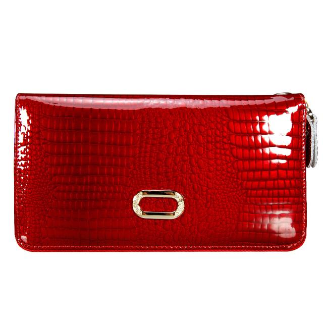 Подлинный кожаный бумажник кожа кошельки клатч длинные дизайн кошелек сумки сумочка ...