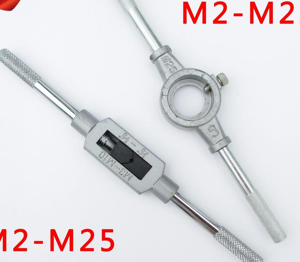 Zinc alloy hinge hand tap wrench twisted wire tapping hand carry high-grade hinges round die hand die stocks<br><br>Aliexpress