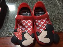 2015 Cartoon Cute Mickey Minnie Summer Children's Baby Girls Sandals First Walkers Jelly Kids Shoes Hign Quality Fr