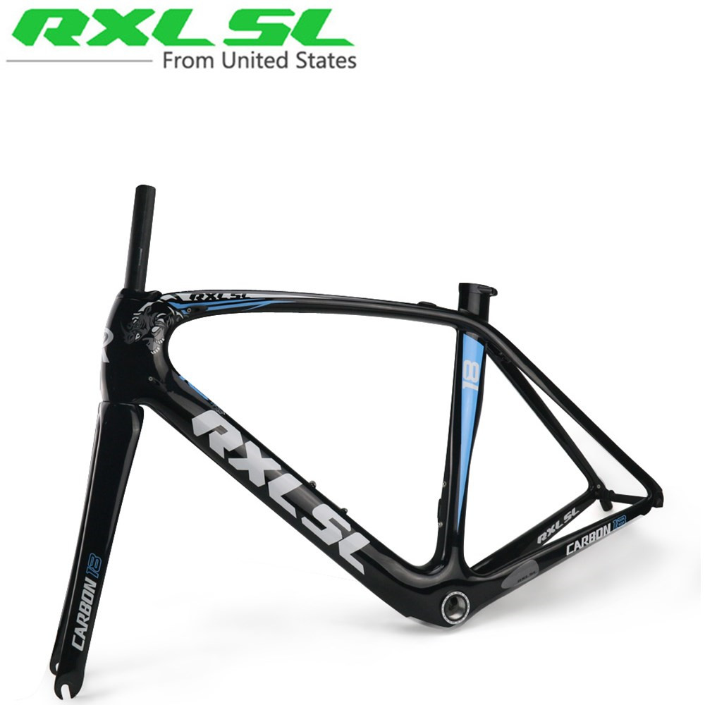 RXL SL Carbon Road Bicycle Frame Breaking wind bike road frames Ultra-light Bicycle Frame 1K/3k/UD Gloss/Matte BSA68/BB30/PF/30(China (Mainland))