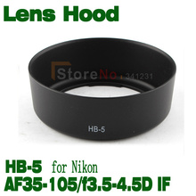 Buy Free tracking number HB-5 HB5 Lens Hood Nik0n AF 35-105mm f/3.5-4.5D IF HB5 for $6.47 in AliExpress store