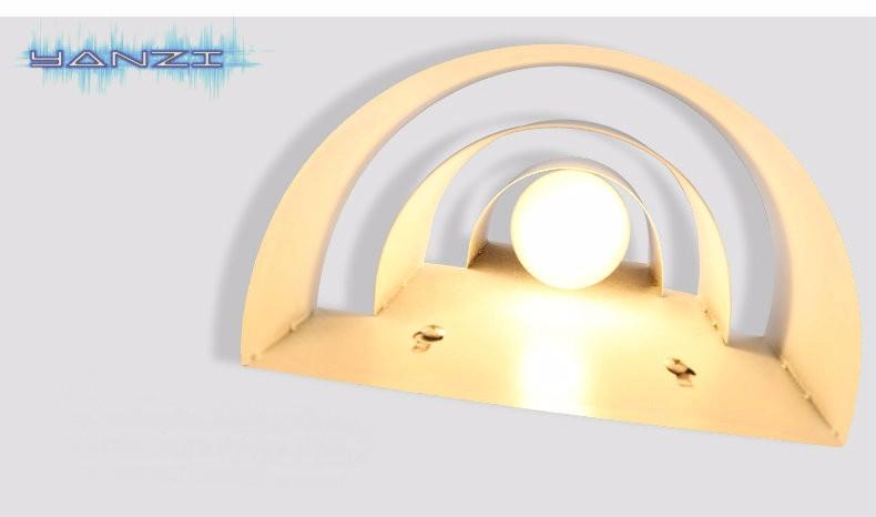 Купить Просто Современное Освещение E27 Настенный Светильник Спальня Настенный Светильник Ночники Творческая Личность Настенные Светильники Настенные Бра Бесплатная Доставка