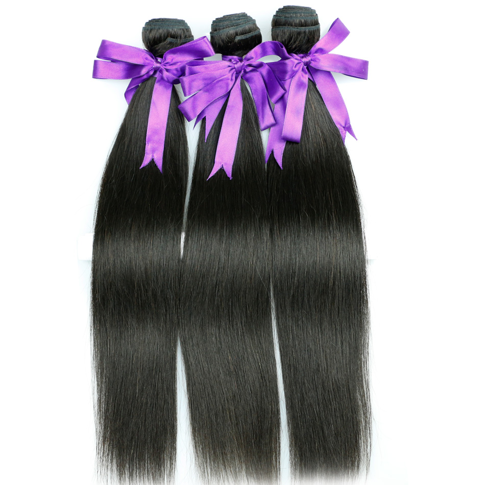 Cambodian Straight Virgin Hair 3pcs lot 100% Unprocessed Human Hair Weave Queen Hair Products Cambodian Virgin Hair Bundles