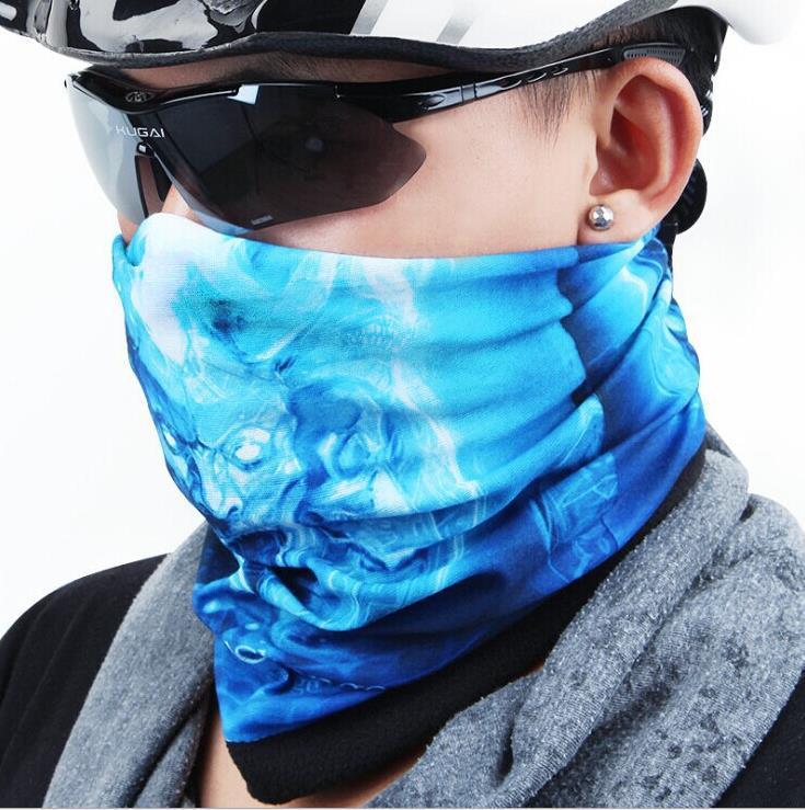 5PCS/LOT Colorful Outdoor Sports scarves Bicycle Turban Multi Magic Headband Veil Kerchief Head Scarfs Free Shipping 150 style(China (Mainland))