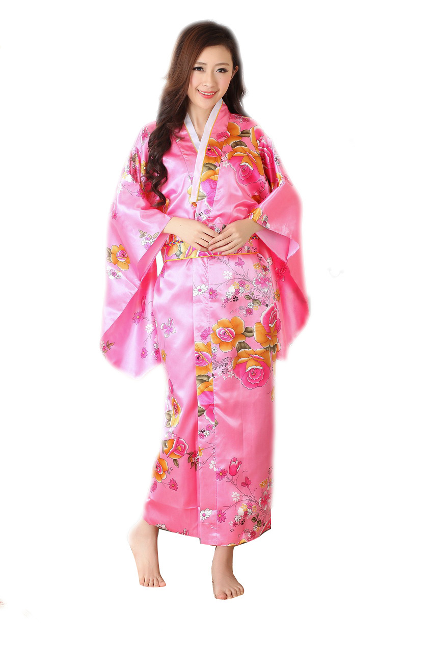 Model  Japanese Traditional Kimonos Japanese Dress Costume Japan Kimono