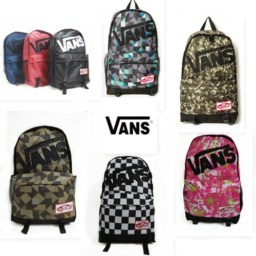 30 style School Youth Trend schoolbag 2015 new ladies female man shoulder bag VANS Escolar bolsas mochila US Nina backpack(China (Mainland))