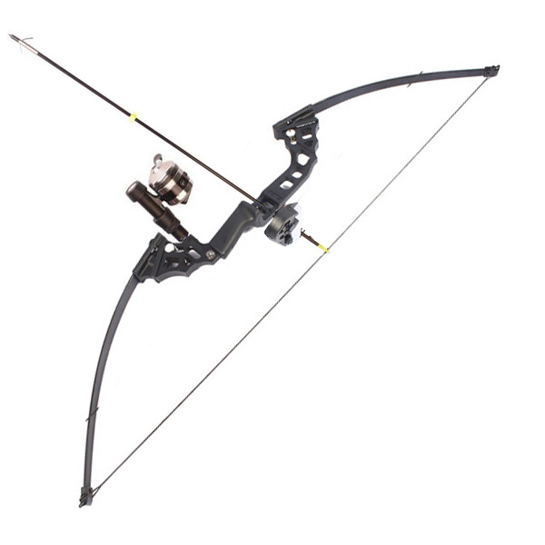 Straight Bow Hunting fishing Long Bow Recurve Bow Fiberglass Limb Foldable Aluminum Handle