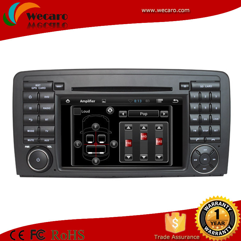 Wecaro andorid 4.4 2 auto gps 6 disc car dvd changer for Mercedes(China (Mainland))