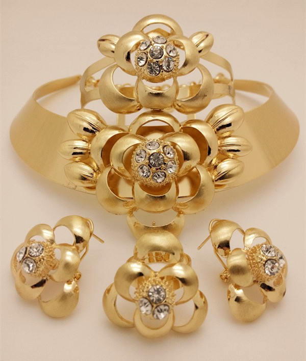 2015 NEWS Women Wedding Dress Accessories Long Jewelry Sets Big Jewelry Sets African Wedding Beads Bridal Costume Jewelry Sets(China (Mainland))