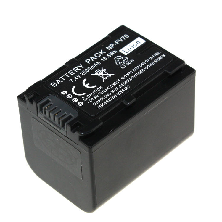 7 4V 2pcs Battery Charger NP FV70 NP FV70 Rechargeable Camera Battery For Sony