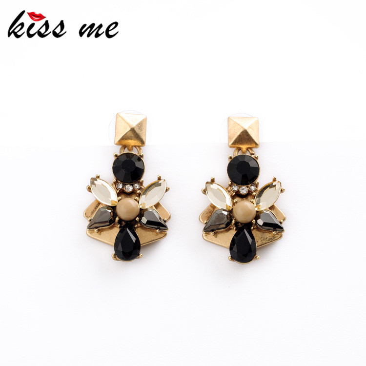 Factory Price Vintage Earrings 2015 New Retro Water Drop Flowers Women Jewelry Brincos - KISS ME Official Store store