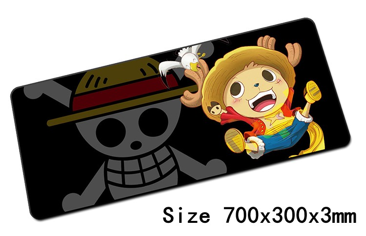 anime One Piece mouse pad 700x300x3mm pad to mouse notbook computer mousepad Beautiful gaming padmouse gamer to laptop mouse mat(China (Mainland))