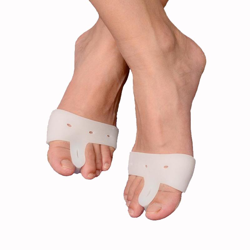 1 pair Forefoot protection bunion guard toe separator protective toe pad toe protector hallux valgus(China (Mainland))