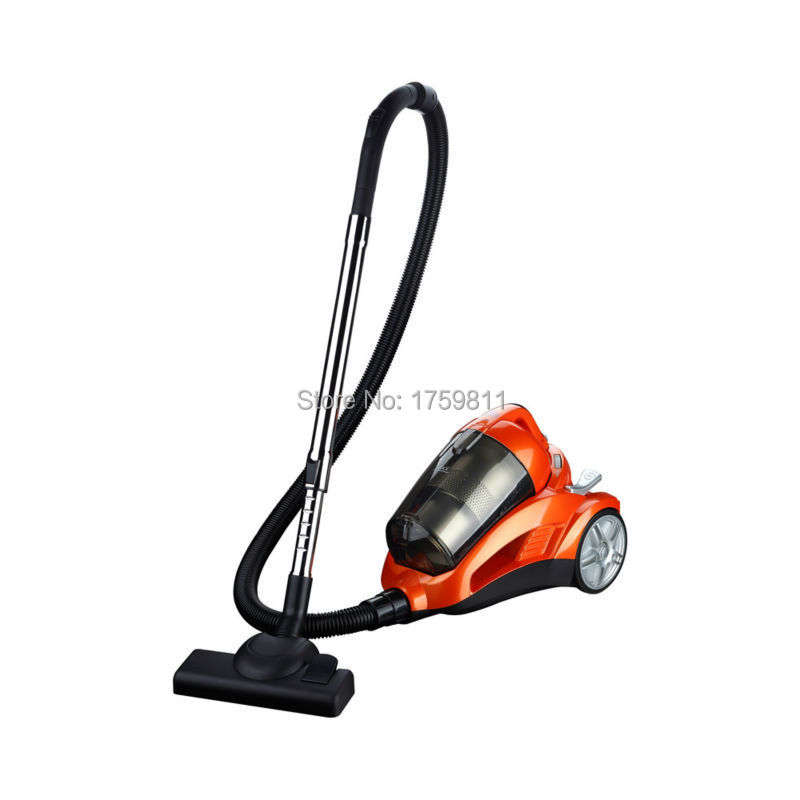 2015 New Design Dry Bagless Powerful Cyclonic Vacuum Cleaner for Household MD-702 Orange Color Free Shipping(China (Mainland))