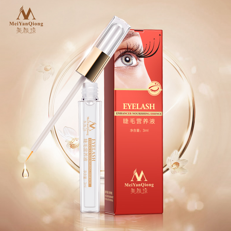 Herbal Powerful Makeup Eyelash Growth Treatments Liquid Serum Enhancer Eye Lash Longer Thicker Better than Eyelash Extension(China (Mainland))