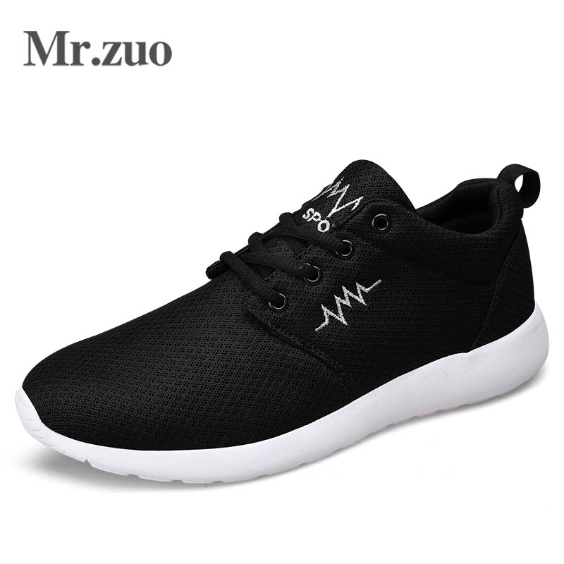 Mr.zuo Men's Shoes Sport Jogging Shoes Air Trainers Shoes Lovers Superstars Mesh Chaussure Homme Tenis Casual(China (Mainland))
