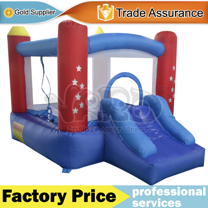 DHL FREE SHIPPING Mini Inflatable Bouncer Kid Jumping House With air blower(China (Mainland))