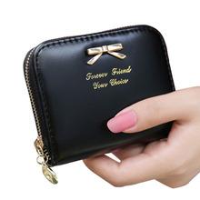 New Fashion Lady Women Leather Wallet Zip Around Wallet Card Holder Handbag NVIE