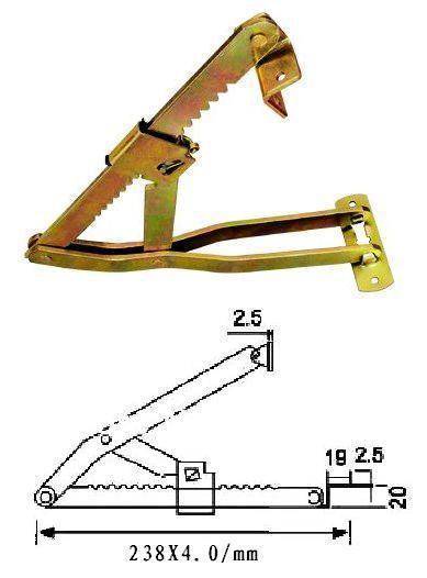 sofa hardware .furniture hinge .metal bed parts  . headrest adjuster