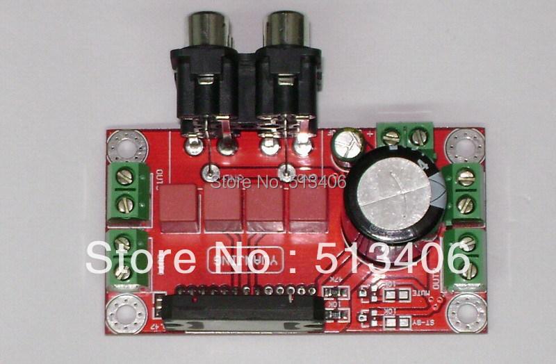 5PCS/ LOT TDA7850 4 Channel 50W Hifi Mini Car Audio Amplifier DIY AMP Kit Board(China (Mainland))