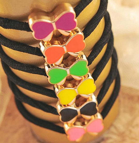 10 PCS Women Soft Hair Band Rope Ring Elastic Ponytail Holder Random Color(China (Mainland))