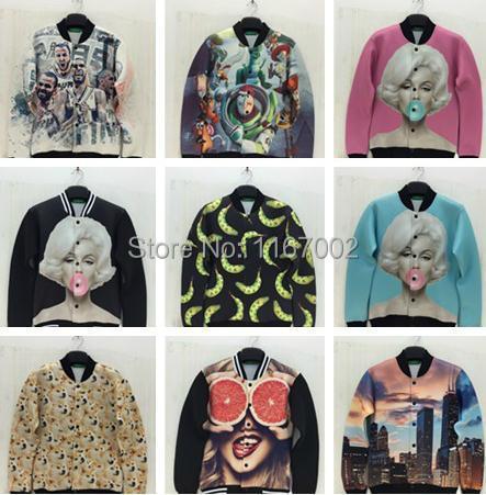 женская куртка oem v pe1445 jackets Женская куртка Jackets baseball uniform 3D CC2