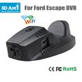 FHD 1080P 170 Degree hidden Car DVR Tachograph for Ford Kuga Escape Built in Wifi dvrs