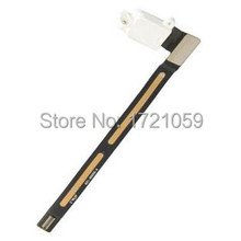 5pcs Earphone Headphone flex cable ribbon For iPad Air 2 For iPad 6 A1566 A1567 Audio Jack white black free shipping