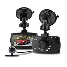 G30B Car DVR Video Recorder Car Camera Allwinner Full HD 1080P Dual Lens External Rear Camera IR Night Vision Vehicle Dash Cam(China (Mainland))