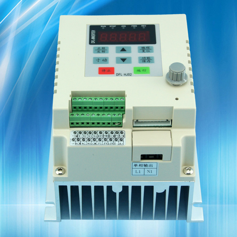 0.75KW VFD inverter 220 into a variable frequency inverter is a single-phase input single phase output china cheap wholesale(China (Mainland))
