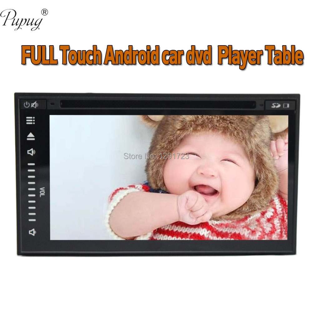 2015 7'' Full-Touch Screen 2 Din Car PC Stereo tablet Pure Android 4.2 GPS Navi Car Radio audio DVD CD mp3 video player BT Ipod(China (Mainland))