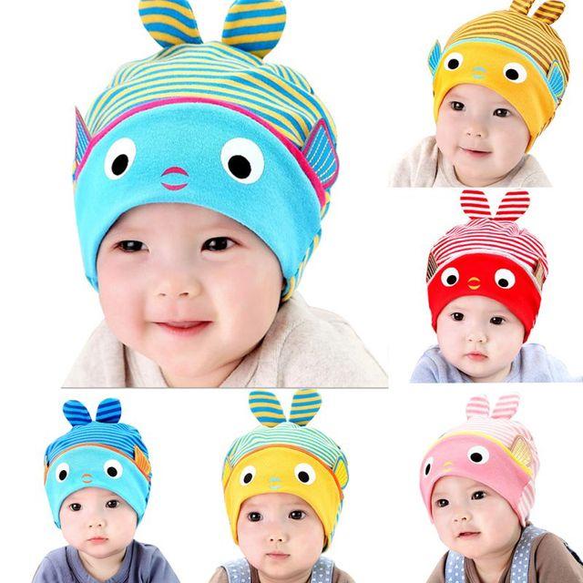 Ребенок дети девочки / мальчики Cap зимняя шапка теплые трикотажные новорожденных подарочные