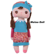 Angela rabbit dolls Metoo 12cm/35cm baby plush toy doll sweet cute stuffed toys Dolls for kids girls Birthday/Christmas Gift(China (Mainland))