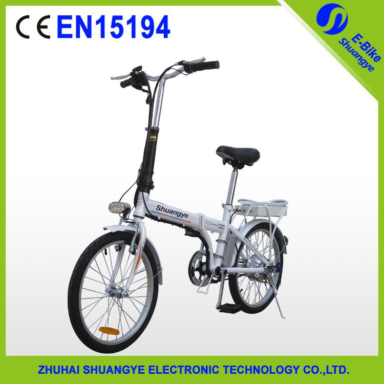 cheap 20 36v 12ah folding electric bicycle