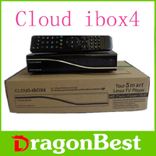 2pcs/lot cloud ibox4 satellite receiver software download hd twin tuner cloud ibox 4 DVB-S2 Twin Tuner Linux Operating System(China (Mainland))
