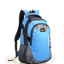 Korean Color Block Lover Men And Women Computer Backpack Bag Students School Bag 50*30*15cm(China (Mainland))